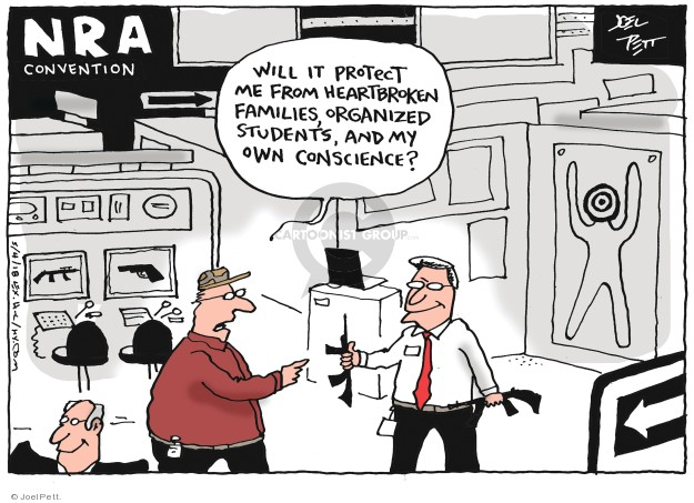 Cartoonist Joel Pett  Joel Pett's Editorial Cartoons 2018-05-04 family