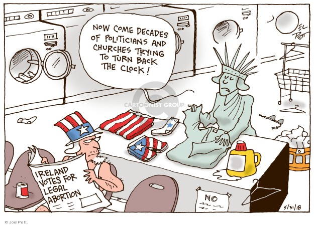 Cartoonist Joel Pett  Joel Pett's Editorial Cartoons 2018-05-31 state