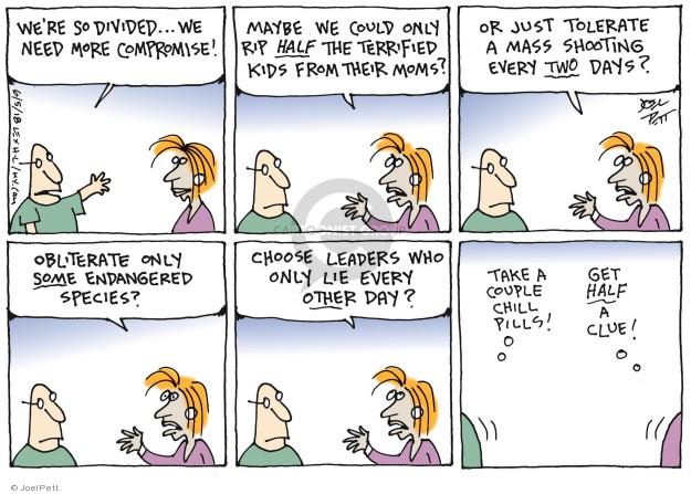 Joel Pett  Joel Pett's Editorial Cartoons 2018-06-05 immigration