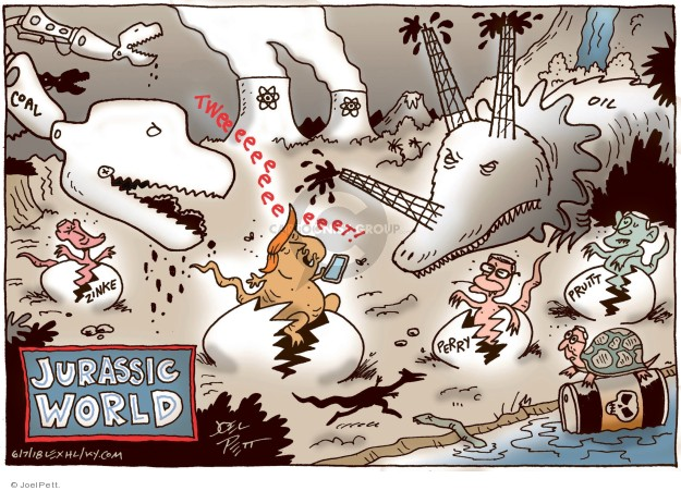 Cartoonist Joel Pett  Joel Pett's Editorial Cartoons 2018-06-07 Rick Perry