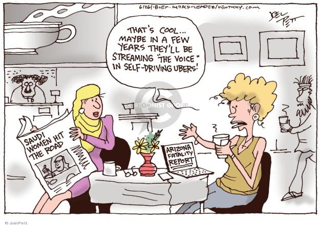 Cartoonist Joel Pett  Joel Pett's Editorial Cartoons 2018-06-26 issue