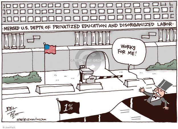 Joel Pett  Joel Pett's Editorial Cartoons 2018-06-28 public works