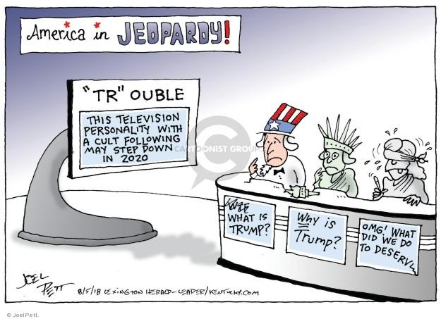 Joel Pett  Joel Pett's Editorial Cartoons 2018-08-05 reality
