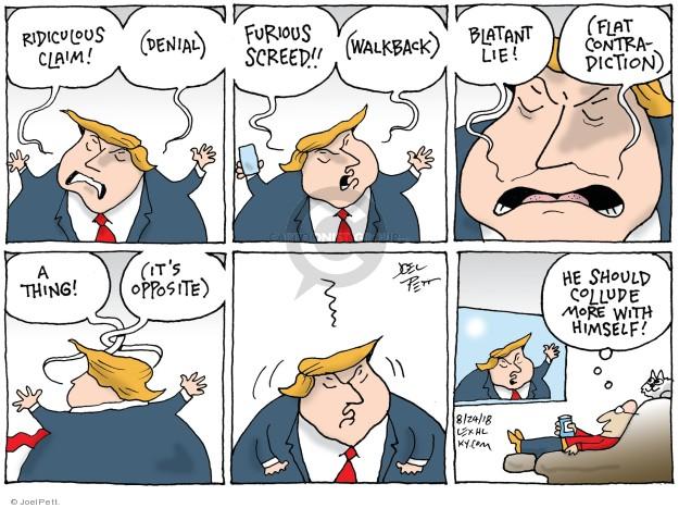 Cartoonist Joel Pett  Joel Pett's Editorial Cartoons 2018-08-24 Robert