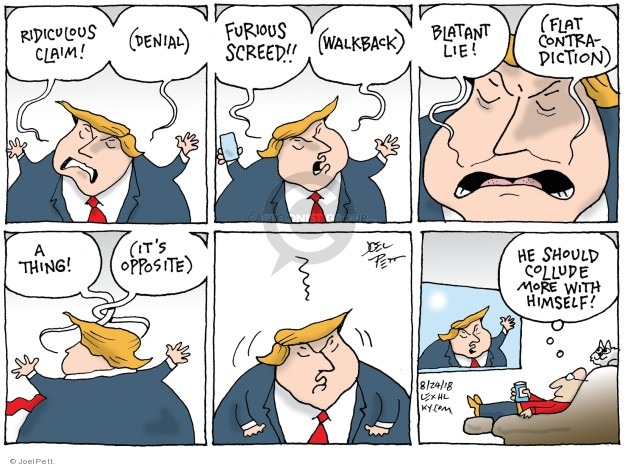 Joel Pett  Joel Pett's Editorial Cartoons 2018-08-24 Robert Mueller