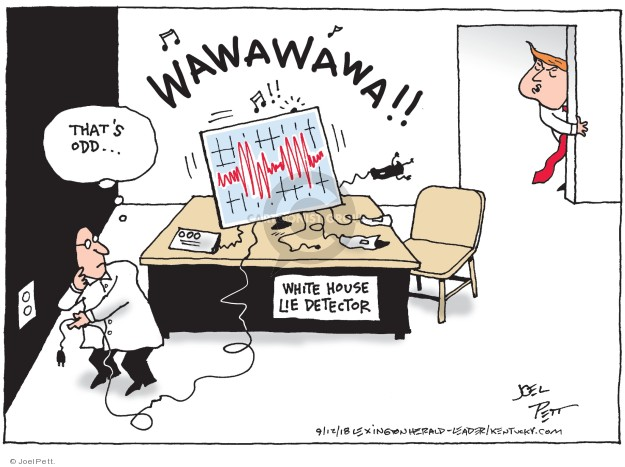 Joel Pett  Joel Pett's Editorial Cartoons 2018-09-12 staff