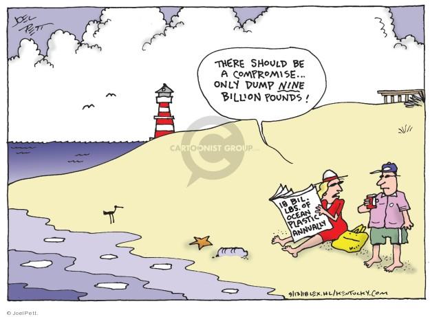 Joel Pett  Joel Pett's Editorial Cartoons 2018-09-13 ocean