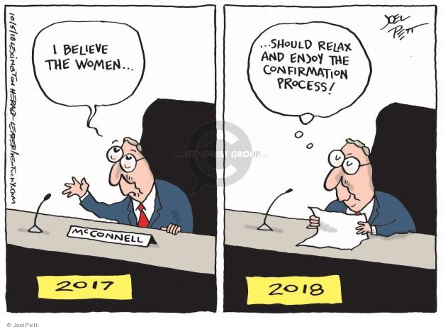 Joel Pett  Joel Pett's Editorial Cartoons 2018-10-05 justice system