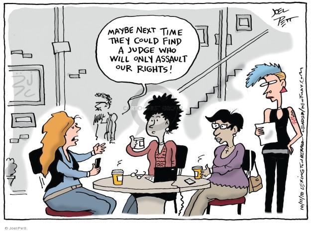 Joel Pett  Joel Pett's Editorial Cartoons 2018-10-10 justice system