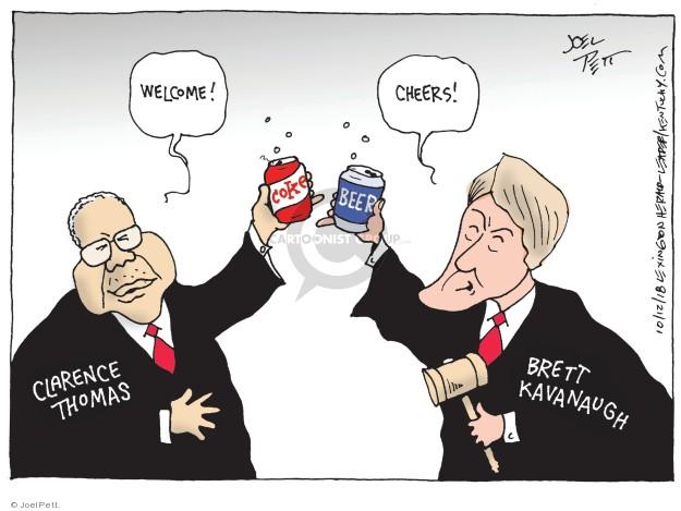Joel Pett  Joel Pett's Editorial Cartoons 2018-10-12 justice system