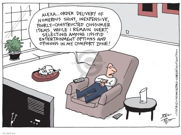 Joel Pett  Joel Pett's Editorial Cartoons 2018-11-23 shopper