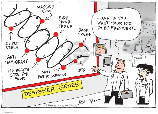 Cartoonist Joel Pett  Joel Pett's Editorial Cartoons 2018-12-01 immigrant
