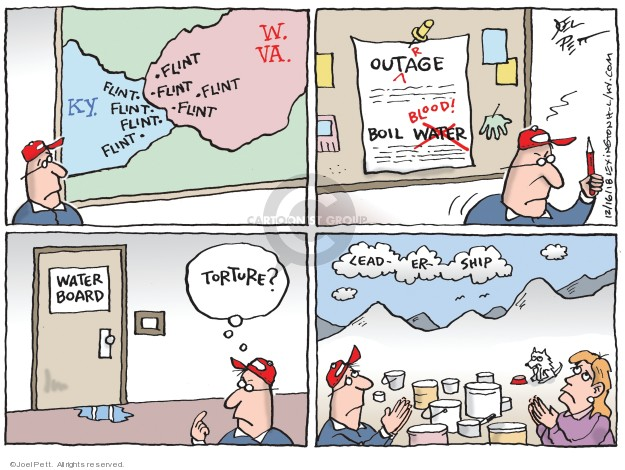 Joel Pett  Joel Pett's Editorial Cartoons 2018-12-16 Kentucky