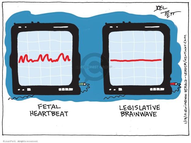 Joel Pett  Joel Pett's Editorial Cartoons 2019-01-13 politics