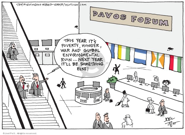 Cartoonist Joel Pett  Joel Pett's Editorial Cartoons 2019-01-24 poverty