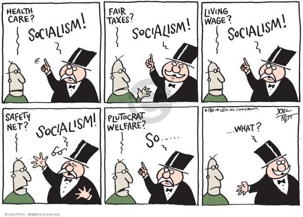 Joel Pett  Joel Pett's Editorial Cartoons 2019-02-08 wealth