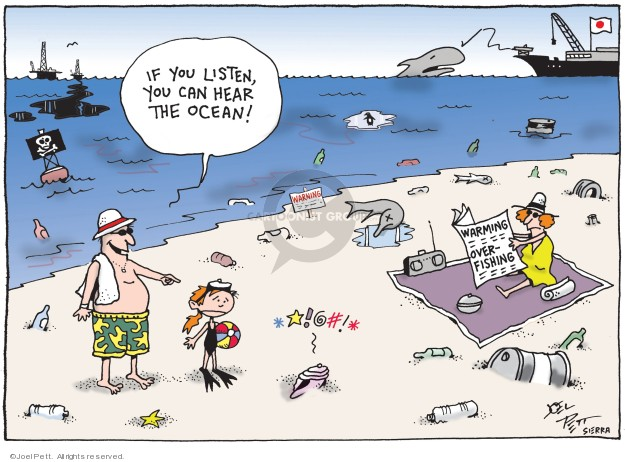 Joel Pett  Joel Pett's Editorial Cartoons 2019-03-03 ocean