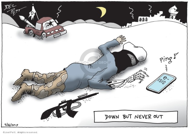 Cartoonist Joel Pett  Joel Pett's Editorial Cartoons 2019-03-26 international affairs