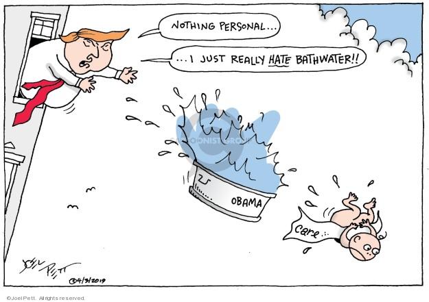 Joel Pett  Joel Pett's Editorial Cartoons 2019-04-03 Obamacare