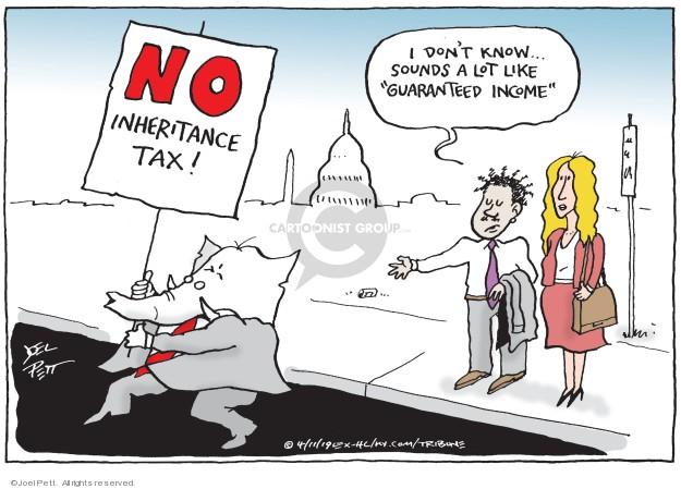 Cartoonist Joel Pett  Joel Pett's Editorial Cartoons 2019-04-11 income tax