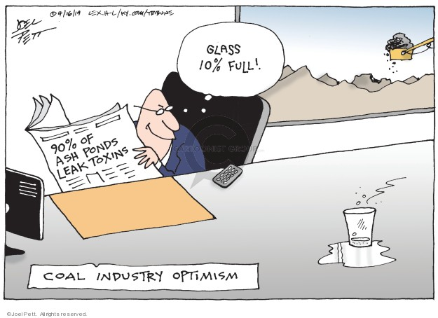Joel Pett  Joel Pett's Editorial Cartoons 2019-04-16 leak