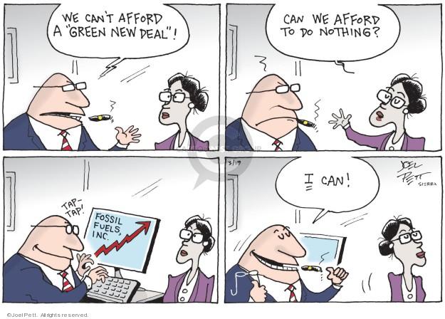 Cartoonist Joel Pett  Joel Pett's Editorial Cartoons 2019-03-19 money