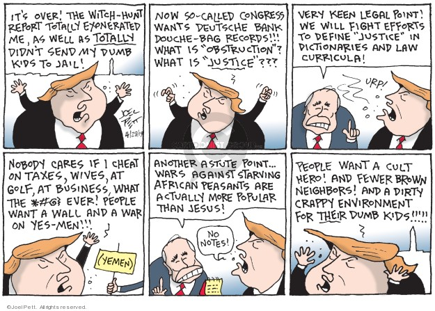 Joel Pett  Joel Pett's Editorial Cartoons 2019-04-28 over