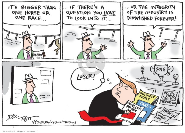 Cartoonist Joel Pett  Joel Pett's Editorial Cartoons 2019-05-07 bigger
