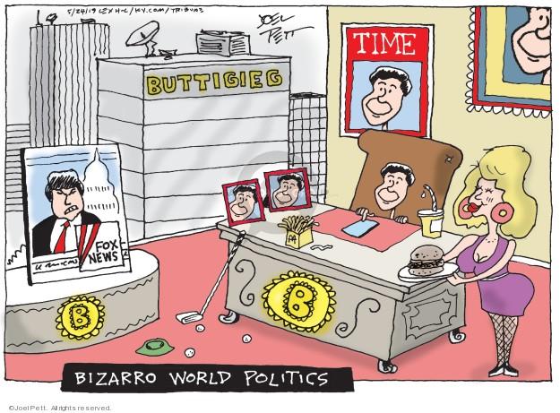 Cartoonist Joel Pett  Joel Pett's Editorial Cartoons 2019-05-24 democrat