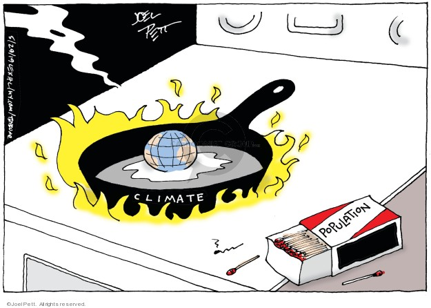 Joel Pett  Joel Pett's Editorial Cartoons 2019-05-29 birth