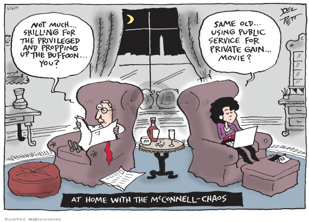 Joel Pett  Joel Pett's Editorial Cartoons 2019-06-16 republican party