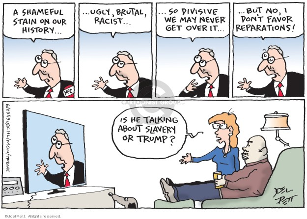 Joel Pett  Joel Pett's Editorial Cartoons 2019-06-23 over