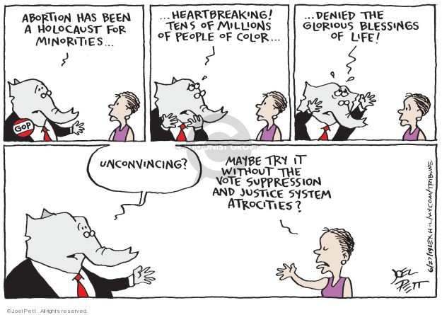 Joel Pett  Joel Pett's Editorial Cartoons 2019-06-27 woman