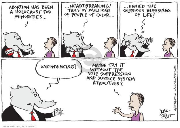 Joel Pett  Joel Pett's Editorial Cartoons 2019-06-27 justice system