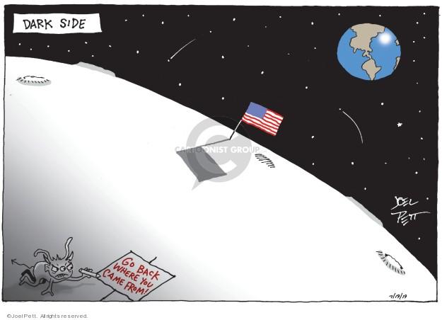 Cartoonist Joel Pett  Joel Pett's Editorial Cartoons 2019-07-19 history