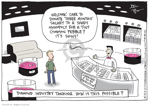 Joel Pett  Joel Pett's Editorial Cartoons 2019-04-18 salary