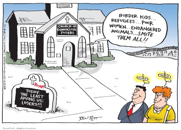 Joel Pett  Joel Pett's Editorial Cartoons 2019-08-23 immigration