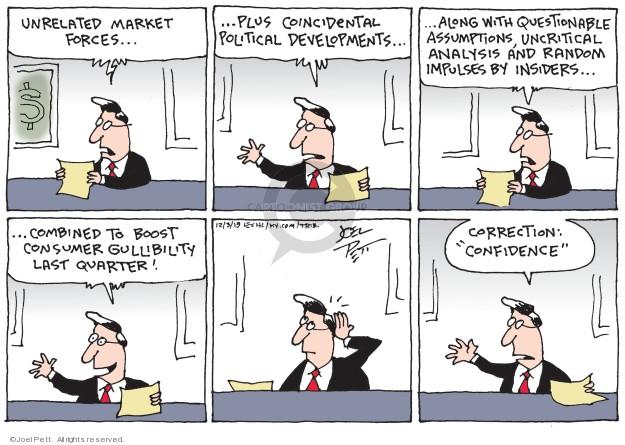 Joel Pett  Joel Pett's Editorial Cartoons 2019-12-03 economy