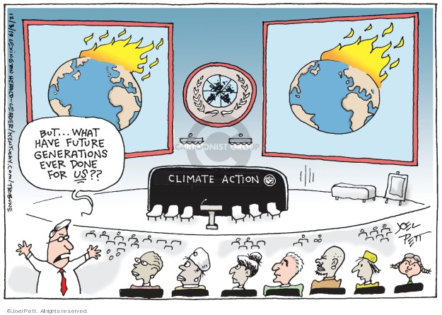 Joel Pett  Joel Pett's Editorial Cartoons 2019-12-04 generation