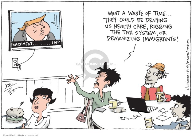 Joel Pett  Joel Pett's Editorial Cartoons 2020-01-22 health
