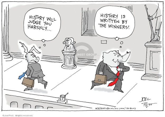 Joel Pett  Joel Pett's Editorial Cartoons 2020-02-02 political scandal