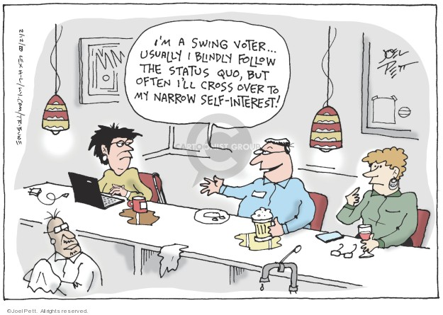 Joel Pett  Joel Pett's Editorial Cartoons 2020-02-12 over