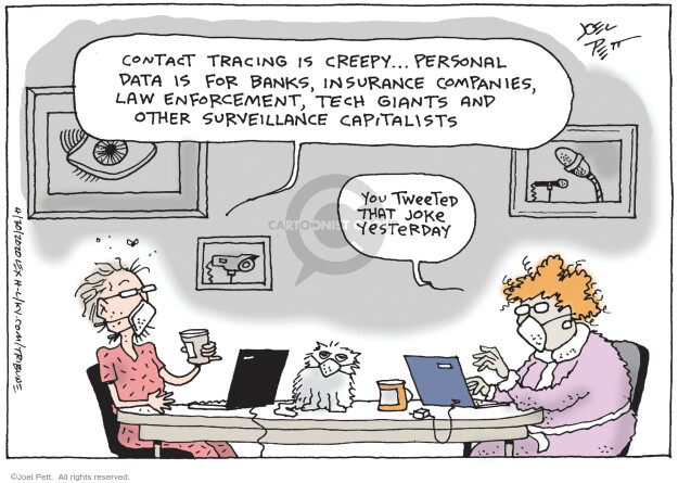 Joel Pett  Joel Pett's Editorial Cartoons 2020-04-30 information