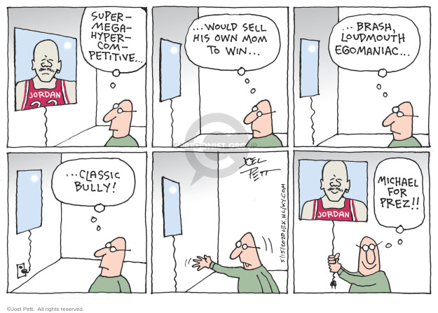 Joel Pett  Joel Pett's Editorial Cartoons 2020-05-15 basketball