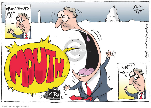 Cartoonist Joel Pett  Joel Pett's Editorial Cartoons 2020-05-20 president