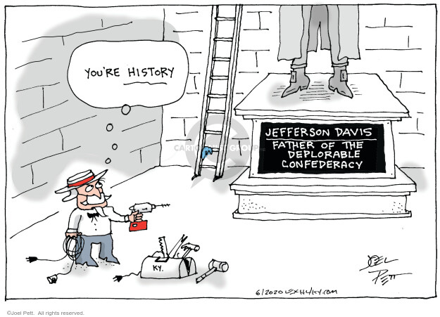 Joel Pett  Joel Pett's Editorial Cartoons 2020-06-13 race relations