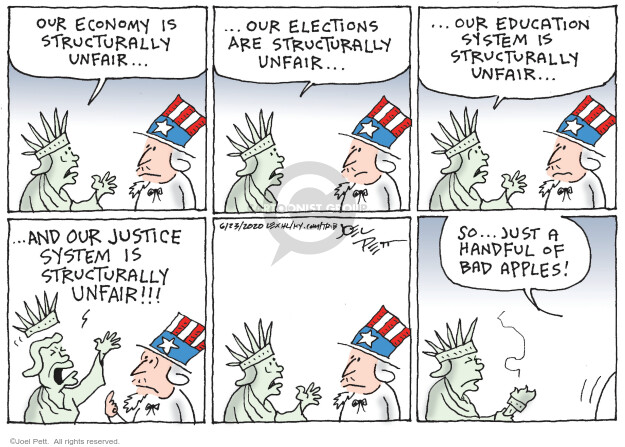 Joel Pett  Joel Pett's Editorial Cartoons 2020-06-23 law school