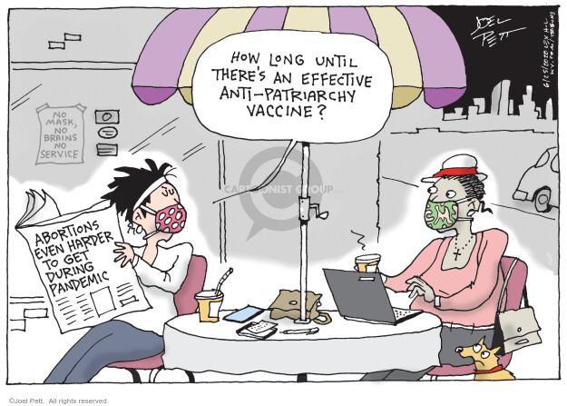 Joel Pett  Joel Pett's Editorial Cartoons 2020-06-25 woman