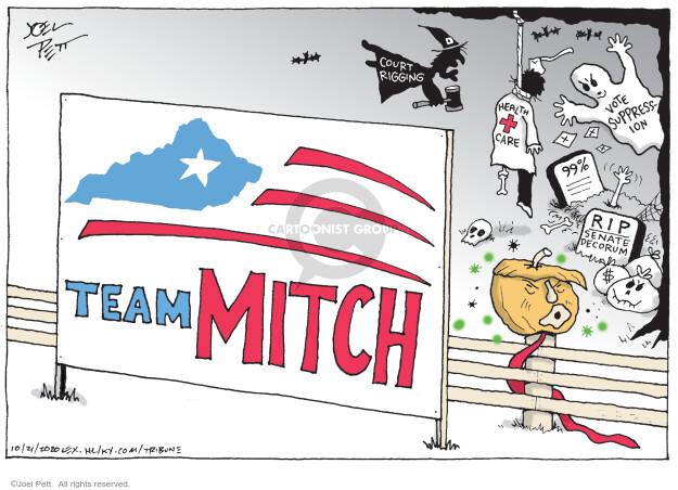 Joel Pett  Joel Pett's Editorial Cartoons 2020-10-22 presidential election