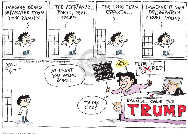 Joel Pett  Joel Pett's Editorial Cartoons 2020-10-25 Presidency